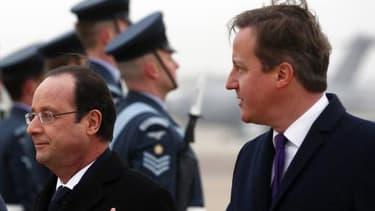 François Hollande et David Cameron ce vendredi 31 janvier.