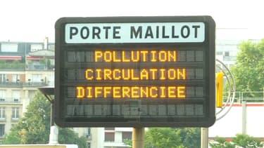 La circulation différenciée est en place de puis ce mercredi à Paris et en petite couronne.