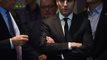 Emmanuel Macron était en visite à Fos-sur-mer, dans les Bouches-du-Rhône.