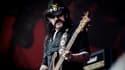 Lemmy Kilmister et Motörhead, en concert au festival de Roskilde au Danemark.