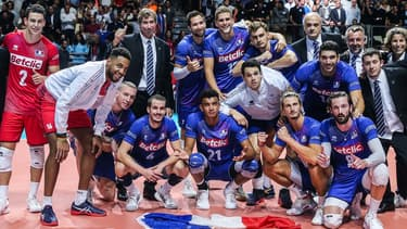 L'équipe de France de volley