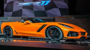 La nouvelle Corvette ZR1 en version cabriolet