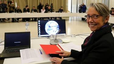 La ministre des Transports Elisabeth Borne, le 5 avril 2017, à Paris.