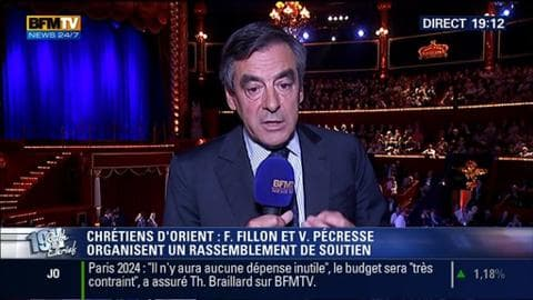 François Fillon face à Ruth Elkrief