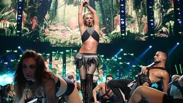 Britney Spears sur scène à Las Vegas le 24 septembre 2016
