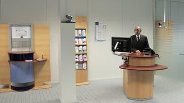 Les Français délaissent les agences bancaires.