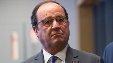 François Hollande lors d'un déplacement à New York, aux Etats-Unis le 18 novembre 2019