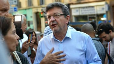 Jean-Luc Mélenchon à Marseille, le 24 août 2017