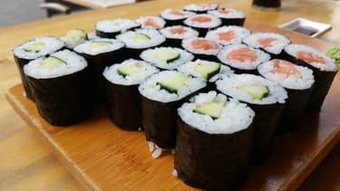 Sushi'n'roll veut lancer son service aux entreprises à partir de septembre.(Photo d'illustration)