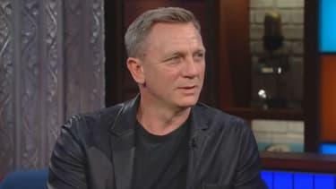 """Daniel Craig dans le """"Late Show"""" de Stephen Colbert"""