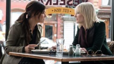 Sandra Bullock et Cate Blanchett dans Ocean's 8