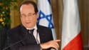 françois hollande le 17 novembre en Israël où i la abordé la question du nucléaire iranien.