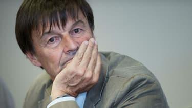 Nicolas Hulot, alors ministre de la Transition écologique et solidaire, en juin 2017