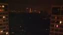 Paris durant la coupure d'électricité, ce jeudi vers 22h30