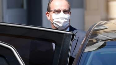 Le Premier ministre Jean Castex quitte le palais de l'Elysée, le 9 juin 2021