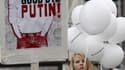 A Moscou, samedi, lors d'une manifestation qui a mobilisé des dizaines de milliers de Russes dénonçant le déroulement des élections législatives du 4 décembre. S'il espère que les fêtes de fin d'année briseront l'élan du mouvement de contestation en Russi