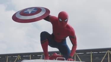 """Spider-Man, invité surprise de """"Captain America: Civil War"""" en salles le 27 avril 2016"""