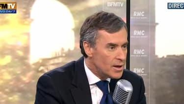 Jérôme Cahuzac était l'invité de BFMTV-RMC, vendredi 8 février.
