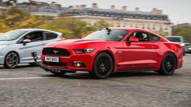 """La Ford Mustang utilisée pour ce """"ReRendezvous"""""""