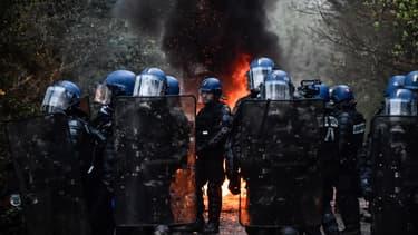 L'opération d'expulsion est en cours sur la ZAD de Notre-Dame-des-Landes.