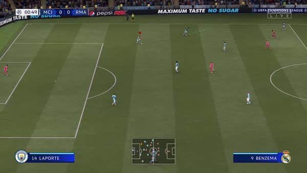 """Le système de """"courses dirigées"""" sur FIFA 21"""