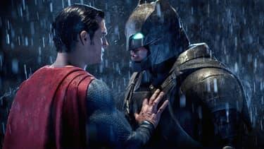 Superman et Batman.