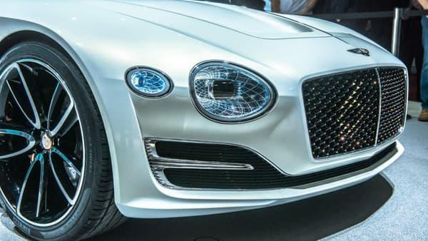 Les lignes et les phares de ce concept devraient inspirer les futurs modèles de Bentley