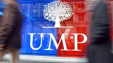 Le siège de l'UMP devenu Les Républicains à Paris