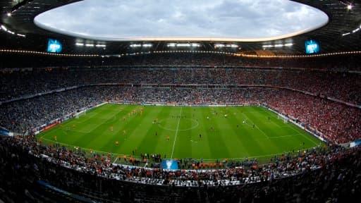 L'Allianz Arena, où évolue conjointement le Bayern Munich et Munich 1860.