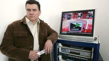 Gilles Kaehlin à Canal Plus en 2005