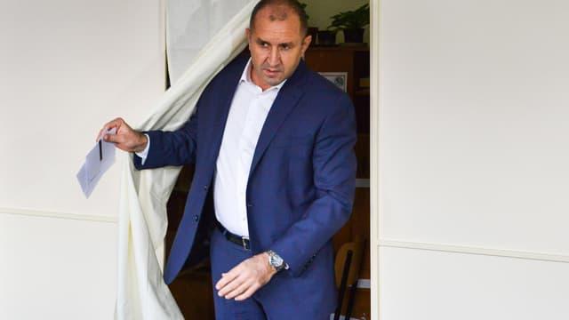 Le président bulgare Roumen Radev à Sofia, le 3 novembre 2019.