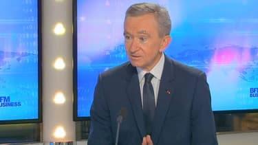 Bernard Arnault est l'invité de l'émission Good Morning Business, ce mardi 19 novembre.
