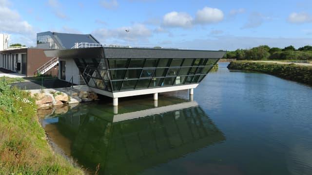 L'usine de traitement eaux usées de Kerran