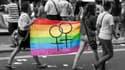 """Le mot d'ordre de la marche des fiertés parisienne de 2012 était """"L'égalité n'attend plus !""""."""