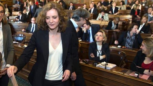 NKM est actuellement présidente du groupe UMP au Conseil de Paris.