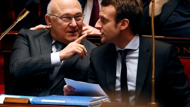 Michel Sapin annonce que l'objectif est largement atteint.