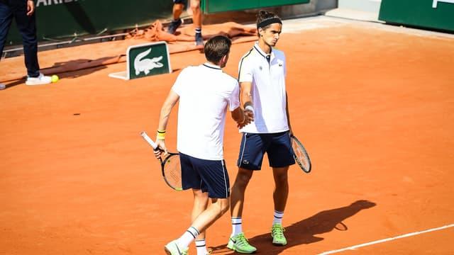 Mahut et Herbert à Roland-Garros