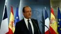 S'exprimant à Madrid lors d'une conférence de presse commune avec le président du gouvernement espagnol Mariano Rajoy, François Hollande a déclaré jeudi que des écarts de taux d'intérêt trop importants entre pays de la zone euro pour refinancer la dette s