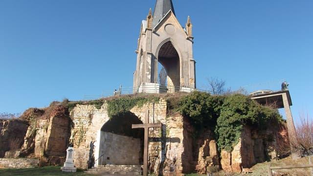 La chapelle Notre-Dame-de-la-Motte de Vesoul