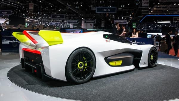 """Une voiture de course """"pour gentlemen"""" selon Pininfarina."""