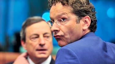 Jeroen Dijsselbloem, le chef de file de l'Eurogroupe, met la pression sur le gouvernement français.