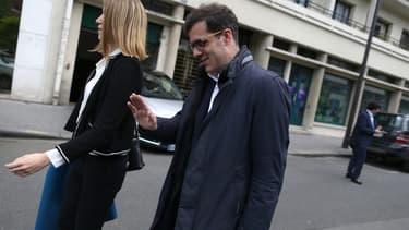 Ismaël Emelien, très proche conseiller d'Emmanuel Macron, le 13 mai 2017
