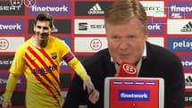 """Barça : """"Nous faisons le maximum pour garder Messi"""" confirme Koeman"""