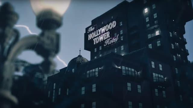 """La """"Tour de la terreur"""" du parc Walt Disney Studios"""