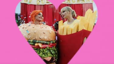 "Katy Perry et Taylor Swift dans le clip ""You need to calm down"""