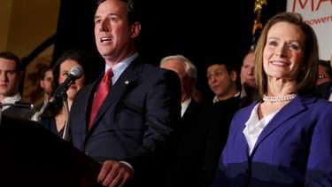 Rick Santorum s'est relancé dans la course à l'investiture républicaine en remportant mardi la primaire du Missouri et les caucus du Minnesota. Le candidat conservateur chrétien qui avait créé la surprise en remportant les caucus de l'Iowa début janvier s