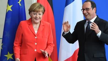François Hollande et Angela Merkel sur la même longueur d'onde