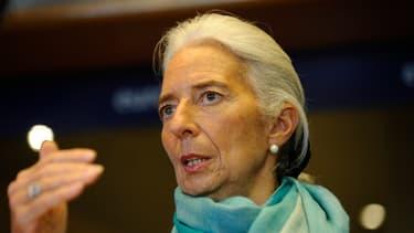 Le FMI que dirige Christine Lagarde estime que la croissance mondiale sera de 3,7% en 2014.
