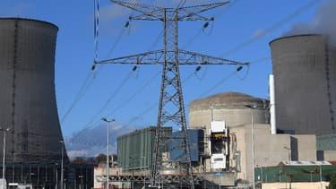 Vue de la centrale nucléaire de Cattenom située en Lorraine. (image d'illustration)