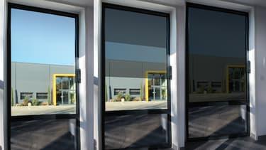 La fenêtre connectée Horizon développée par Sunpartner Technologies et Vinci fonctionne grâce à l'énergie solaire.